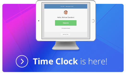 iClassPro Time Clock is Here