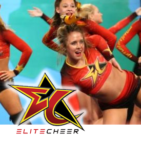 Logo for ELITE CHEER, NE