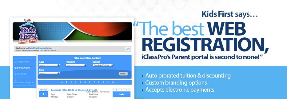 Registration just got easier