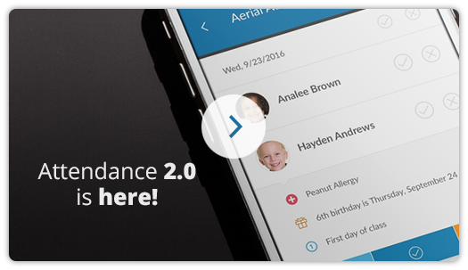 Attendance 2.0 now released!