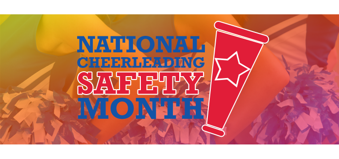iClassPro Blog Image for March is National Cheerleading Safety Month