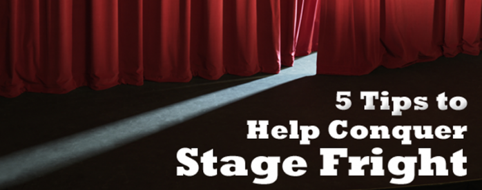 iClassPro Blog Image for 5 Tips to Help Conquer Stage Fright
