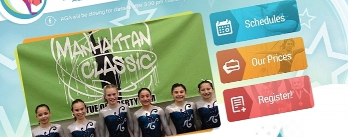 iClassPro Blog Image for KeyCreative Launches Website Redesign for Arnold's Gymnastics Academy
