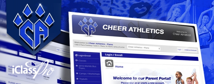 iClassPro Blog Image for Cheer Athletics goes live with iClassPro!