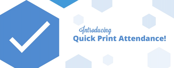 iClassPro Blog Image for Introducing Quick Print Attendance!
