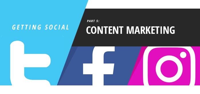 iClassPro Blog Image for Getting Social: Content Marketing
