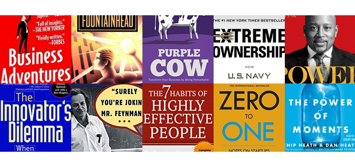 iClassPro Blog Image for Top 10 Books for Entrepreneurs