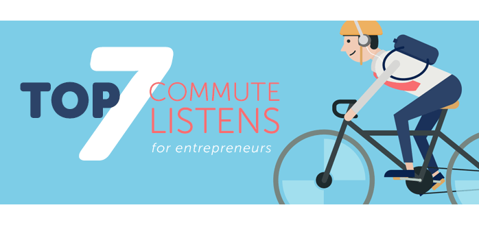 iClassPro Blog Image for Top 7 Commute Listens for Entrepreneurs