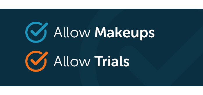 iClassPro Blog Image for Separate Make Up Lessons & Trials