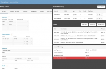 iClassPro Features Image of Accounts Receivable